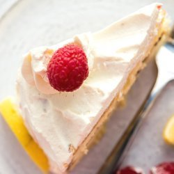 Raspberry Lemon Cream Cake