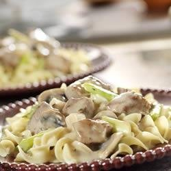 Swiss-Style Veal and Mushrooms