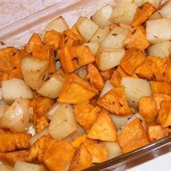 Roasted Potato Medley