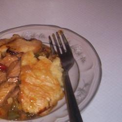 Chicken Honey Mustard Pie