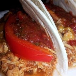 Slow Cooker Mexican-Style Chicken recipe