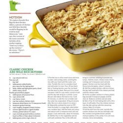 Hot Chicken Rice Casserole