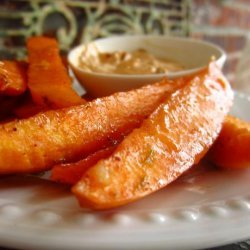 Agave-Lime Sweet Potato Fries
