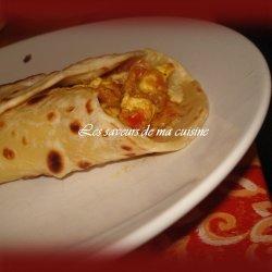 Kathi Kebab (Chicken and Egg Paratha Rolls)