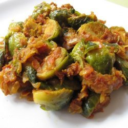 Curried Brussels Sprouts
