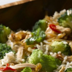 Asian Broccoli Chicken Salad