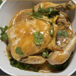 Malaysian Chicken With Curry Sauce