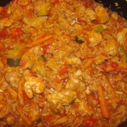 Ivorian Chicken and Vegetables