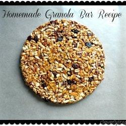 My Homemade Granola Bars