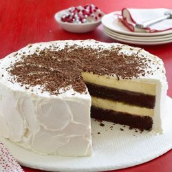 Chocolate Layer Cheesecake