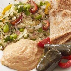 Middle Eastern Mezze Plate