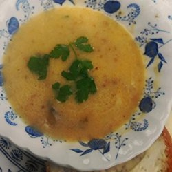 Swedish Mushroom Soup (Svampsoppa)