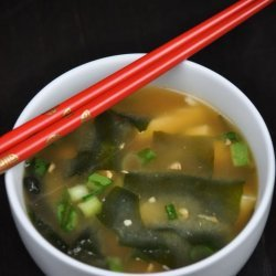 Easy Miso Soup With Tofu