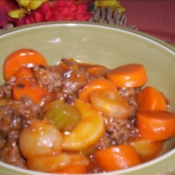 Shortcut Hamburger Stew recipe