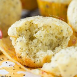 Lemon and Chia Seed Muffins
