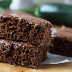 Chocolate Zucchini Sheet Cake