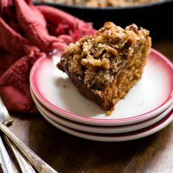 Oatmeal Cake W/ Coconut Topping