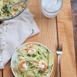 Vietnamese Green Papaya Shrimp Salad