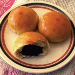 Baked Bao With Black Bean Paste