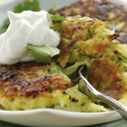 Zucchini Fritters With FAGE Total Greek Yogurt