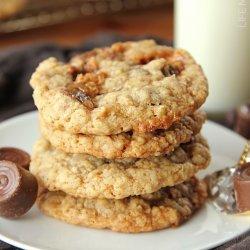 Crispy Oatmeal M&m Cookies