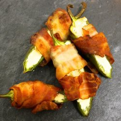Cream Cheese Bacon Wrapped Jalapenos