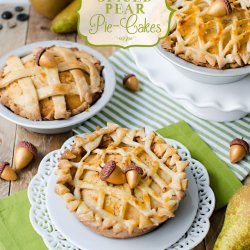 Spiced Pear Pie