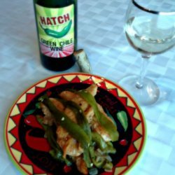Chicken With Green Chile Sauce
