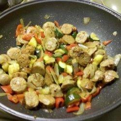 Italian Sausage Dinner