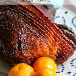 Glazed Orange Ham