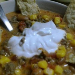 Spicy Cheese Soup