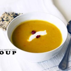 Basic Sweet Potato & Pumpkin Soup