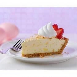 Strawberry-Pina Colada Pie