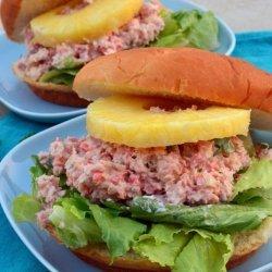 Tropical Ham Salad