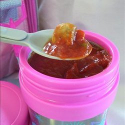 Lunch Box Pizza Soup