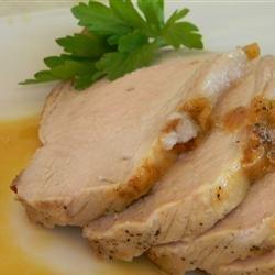 Maple-Brined Pork Loin