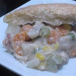 Easy Leftover Thanksgiving Turkey Pot Pie