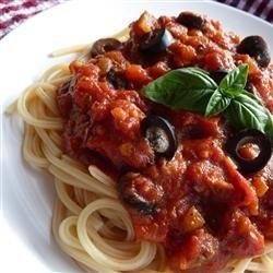 Everything in the Fridge Pasta Sauce