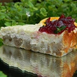 Leftover Turkey Cheesecake recipe