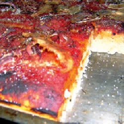Sfincione Siciliano Pizza recipe