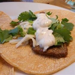 Steak Tacos with Spicy Yogurt Sauce