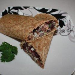 Tuna & Black Bean Wrap