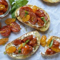 Tomato Cheese Bruschetta