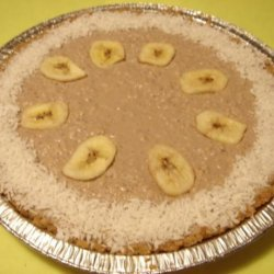 Banana Coconut No-Cream Pie