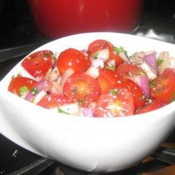 Balsamic Marinated Tomatoes