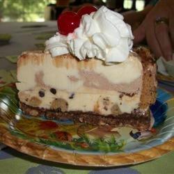 Chocolate Chip Cookie Ice Cream Cake