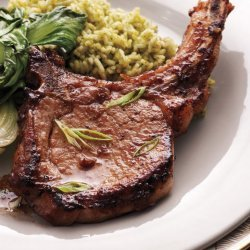 Soy and Ginger Marinated Pork Chops