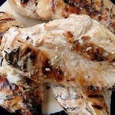 Brined Chicken With Big Bob's White BBQ Sauce