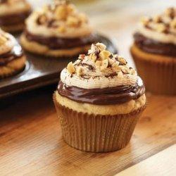 Chocolate Hazelnut and Peanut Butter Cupcakes recipe