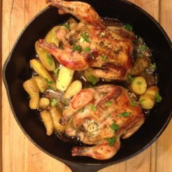 Roasted Cornish Game Hens